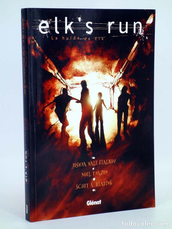 ELK'S RUN, LA HUIDA DE ELK (HALE FIALKOV / TUAZON / A. KEATING) GLENAT, 2008. OFRT ANTES 19,95E (Tebeos y Comics - Glénat - Comic USA)