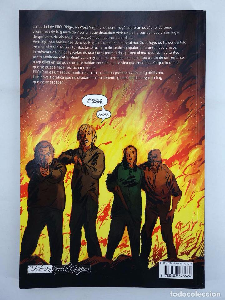 Cómics: ELK'S RUN, LA HUIDA DE ELK (Hale Fialkov / Tuazon / A. Keating) Glenat, 2008. OFRT antes 19,95E - Foto 3 - 101911659