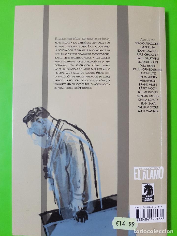 Cómics: Autobiographix tomo en rústica. Will Eisner,Sergio Aragonés,Frank Miller,Eddie Campbell,Lutes, etc - Foto 2 - 102116895