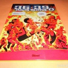 Cómics: MALOS TIEMPOS 36- 39 . CARLOS GIMENEZ. VOLUMEN 2. EDICIÓN GIGANTE TAPA DURA. IMPECABLE.. Lote 102216787