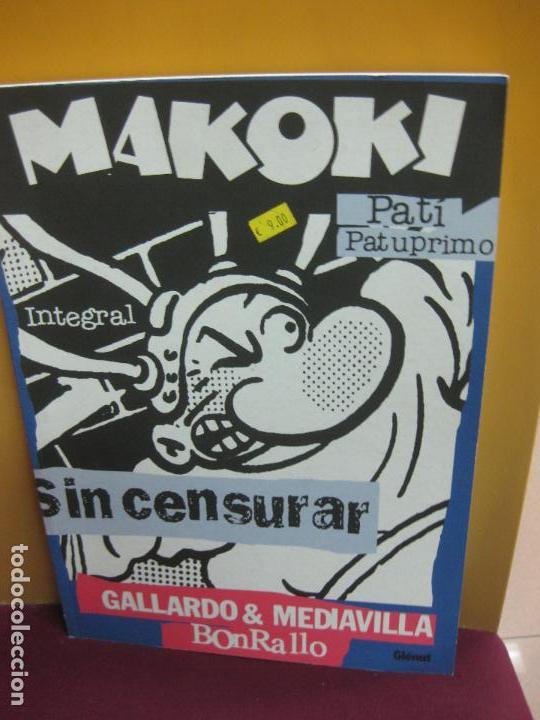 MAKOKI INTEGRAL. SIN CENSURAR. GALLARDO, MEDIAVILLA... GLENAT 2002 (Tebeos y Comics - Glénat - Autores Españoles)