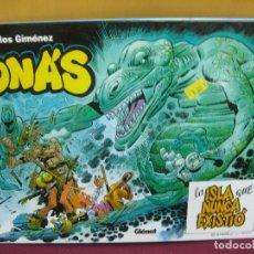 Cómics: JONAS, LA ISLA QUE NUNCA EXISTIO. CARLOS GIMENEZ. GLENAT 2003. Lote 102383587