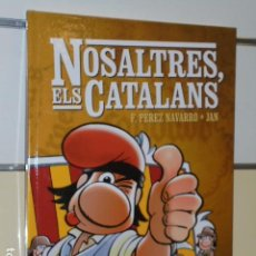 Cómics: NOSALTRES, ELS CATALANS EN CATALAN F. PEREZ NAVARRO - JAN - GLENAT - OFERTA. Lote 109480956
