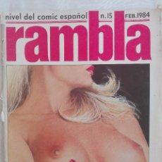 Cómics: RAMBLA N.15 FEB.1984. Lote 103784927
