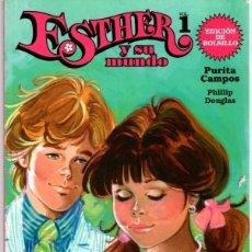 Cómics: ESTHER Y SU MUNDO. VOL. 1. PURITA CAMPOS. EDICION DE BOLSILLO. AÑO 2009. Lote 104154480