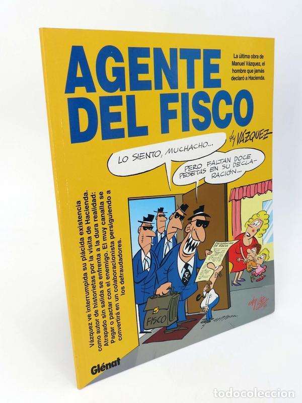 GENIOS DEL HUMOR 2. AGENTE DEL FISCO (BY MANUEL VÁZQUEZ) GLENAT, 1997. OFRT (Tebeos y Comics - Glénat - Autores Españoles)