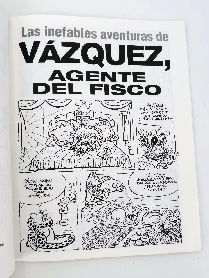 Cómics: GENIOS DEL HUMOR 2. AGENTE DEL FISCO (By Manuel Vázquez) Glenat, 1997. OFRT - Foto 3 - 155440820
