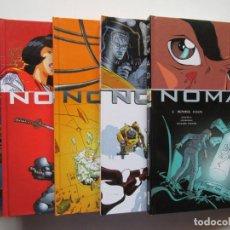 Cómics: NOMAD - COMPLETA 5 TOMOS - SAVOIA Y MORVAN - GLENAT - TAPA DURA - BUENO. Lote 104610943