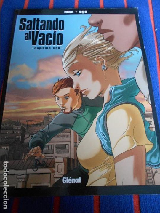 SALTANDO AL VACIO. CAPITULO UNO. MAN - EGO. GLENAT, 2007. RUSTICA. COLOR. COLECCION NOVELA GRAFICA. (Tebeos y Comics - Glénat - Autores Españoles)
