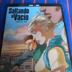 Cómics: SALTANDO AL VACIO. CAPITULO UNO. MAN - EGO. GLENAT, 2007. RUSTICA. COLOR. COLECCION NOVELA GRAFICA. . Lote 104674919