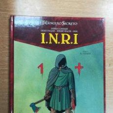 Cómics: EL TRIANGULO SECRETO INRI #1 EL SUDARIO. Lote 105197511