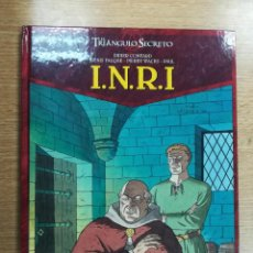 Cómics: EL TRIANGULO SECRETO INRI #2 LA LISTA ROJA. Lote 105197599