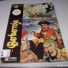 Comics : COLECCIÓN BARBARROJA Nº 1 EL DEMONIO DEL CARIBE. HUBINON CHARLIER. GLENAT 1.994, DEFECTOSD. Lote 105290619