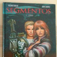 Cómics: SEGMENTOS DE MALKA Y JUAN GIMÉNEZ GLENAT. Lote 105861606