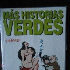 Cómics: MAS HISTORIAS VERDES - BY VAZQUEZ - COLECCION GENIOS DEL HUMOR Nº 7. Lote 105901691