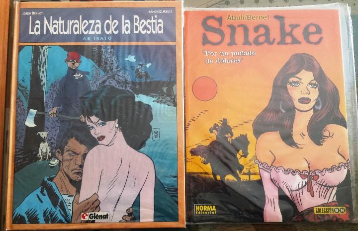 SNAKE Y LA NATURALEZA DE LA BESTIA - NOVELAS GRÁFICAS. (Tebeos y Comics - Glénat - Autores Españoles)