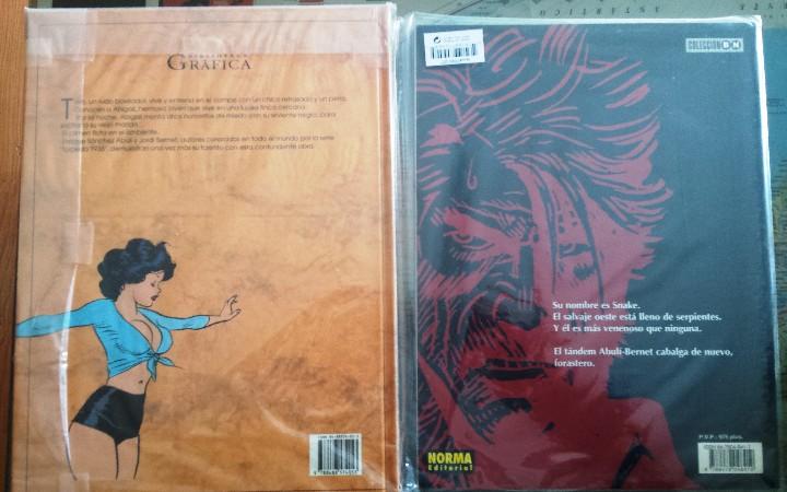 Cómics: SNAKE y LA NATURALEZA DE LA BESTIA - Novelas gráficas. - Foto 2 - 106568343
