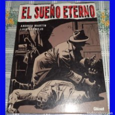 Comics: EL SUEÑO ETERNO ANDREU MARTIN 7 LUIS BERMEJO GLENAT COL. VIÑETAS NEGRAS CLASICOS B/N N.º 1. Lote 192071493