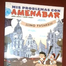 Cómics: MIS PROBLEMAS CON AMENÁBAR POR JORDI COSTA Y DARÍO ADANTI DE ED. GLENAT EN BARCELONA 2009. Lote 106824359