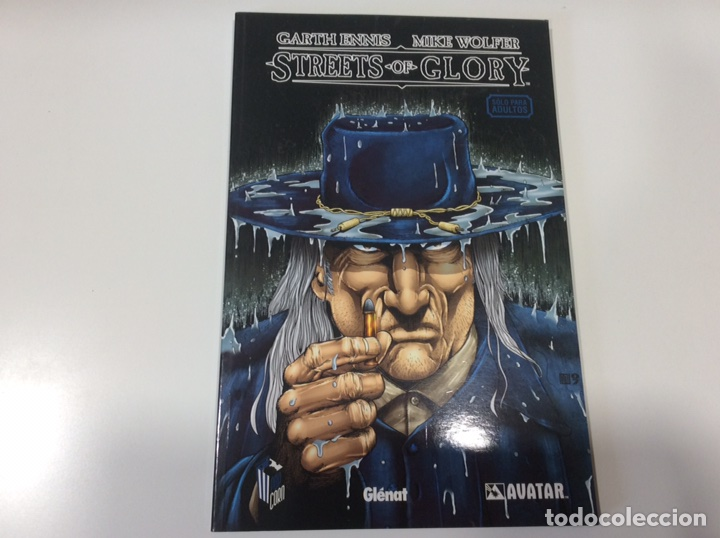 STREETS OF GLORY / GARTH ENNIS (Tebeos y Comics - Glénat - Comic USA)