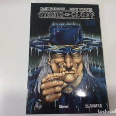 Cómics: STREETS OF GLORY / GARTH ENNIS. Lote 107019827