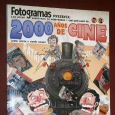 Cómics: 2000 AÑOS DE CINE POR JORDI COSTA Y DARÍO ADANTI DE ED. GLENAT EN BARCELONA 2010. Lote 107046931