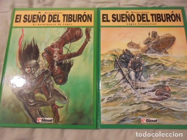 EL SUEÑO DEL TIBURON 1 Y 2 - SCHULTHEISS - 1994 - STOCK DE LIBRERIA SIN USAR - IMPECABLES (Tebeos y Comics - Glénat - Comic USA)