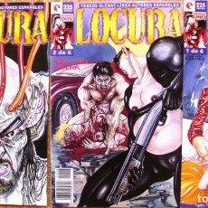 Cómics: LOTE DE 3 COMICS DE LOCURA, TEBEOS GLENAT, 1996. Lote 107603111