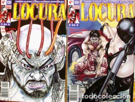 Cómics: Lote de 3 Comics de Locura, Tebeos Glenat, 1996 - Foto 2 - 107603111