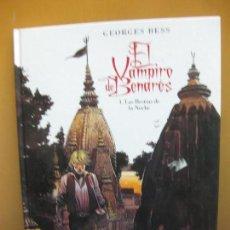 Cómics: EL VAMPIRO DE BENARES. 1.- LAS BESTIAS DE LA NOCHE. GEORGE BESS. GLENAT. Lote 107977695