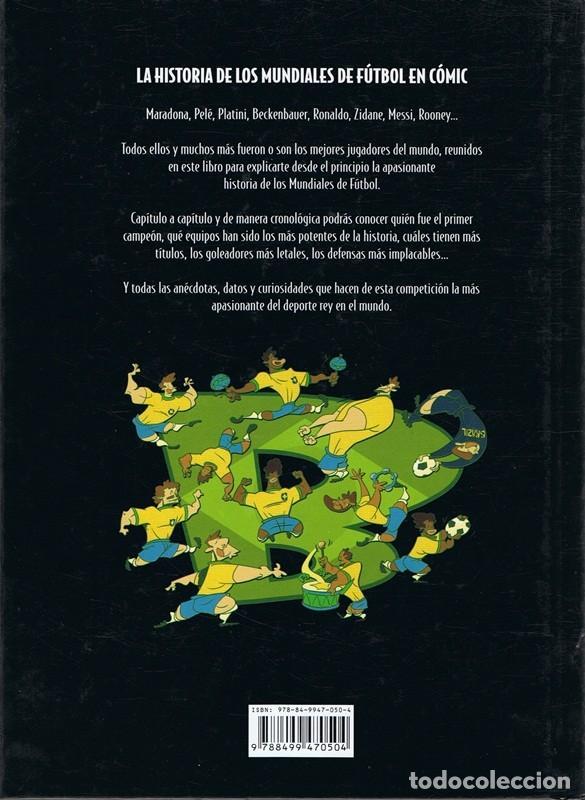 Cómics: LA HISTORIA DE LOS MUNDIALES VÍCTOR GIMÉNEZ - Foto 2 - 108244727