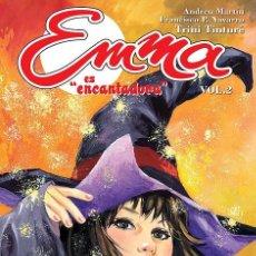 Cómics: EMMA ES ENCANTADORA-2, DE TRINI TINTURÉ, ANDREU MARTÍN Y PÉREZ NAVARRO (GLÉNAT, 2008). Lote 132471418