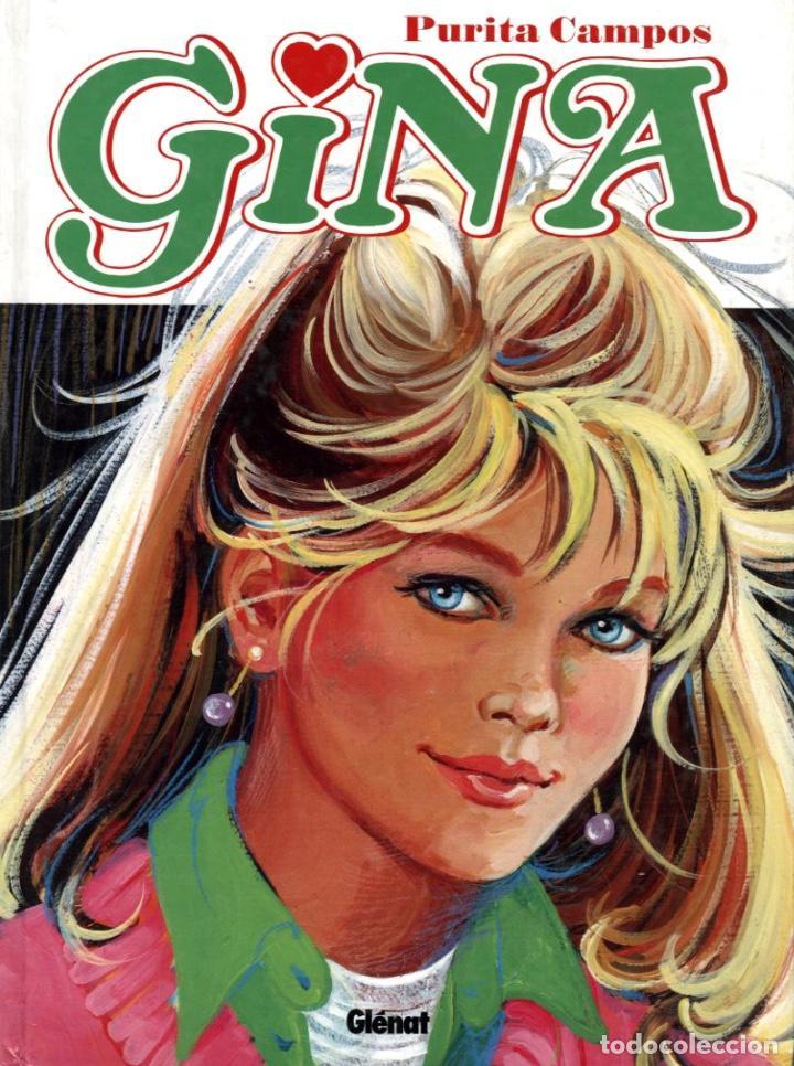 GINA, DE PURITA CAMPOS (GLENAT, 2007) TAPA DURA, 206 PGS (Tebeos y Comics - Glénat - Autores Españoles)