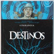 Cómics: DESTINOS,Nº4 -PARANOIA-.EDICIONES GLENAT ESPAÑA.-2011.. Lote 111734763
