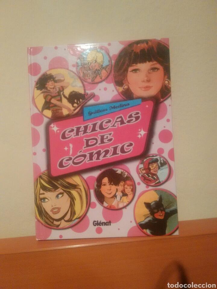 LIBRO CHICAS DE COMIC EDICIONES GLENAT (Tebeos y Comics - Glénat - Autores Españoles)