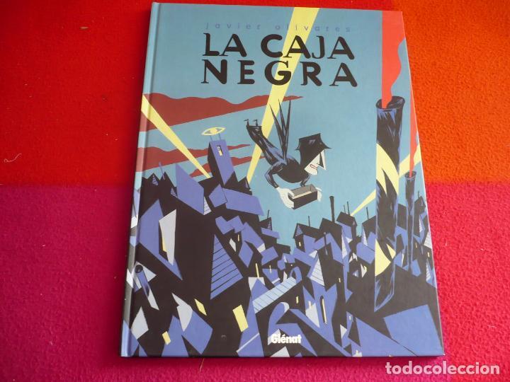LA CAJA NEGRA ( JAVIER OLIVARES ) ¡MUY BUEN ESTADO! TAPA DURA GLENAT (Tebeos y Comics - Glénat - Autores Españoles)