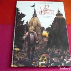 Cómics: EL VAMPIRO DE BENARES 1 LAS BESTIAS DE LA NOCHE ( GEORGE BESS ) ¡MUY BUEN ESTADO! TAPA DURA GLENAT. Lote 112600875