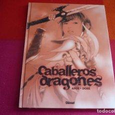 Cómics: CABALLEROS DRAGONES ( ANGE DOHE ) ¡MUY BUEN ESTADO! TAPA DURA GLENAT. Lote 112601187