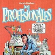 Fumetti: LOS PROFESIONALES (CARLOS GIMÉNEZ) TOMO Nº 01 ( NUEVO Y REBAJADO UN 25%). Lote 112924355