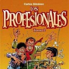 Fumetti: LOS PROFESIONALES (CARLOS GIMÉNEZ) TOMO Nº 02 ( NUEVO Y REBAJADO UN 25%). Lote 112924439