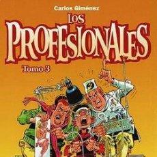 Fumetti: LOS PROFESIONALES (CARLOS GIMÉNEZ) TOMO Nº 03 ( NUEVO Y REBAJADO UN 25%). Lote 112924487