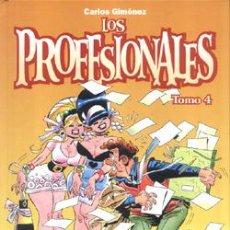 Fumetti: LOS PROFESIONALES (CARLOS GIMÉNEZ) TOMO Nº 04 ( NUEVO Y REBAJADO UN 25%). Lote 112924515