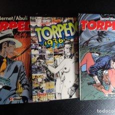 Comics: LOTE DE 3 COMICS DE TORPEDO 2 DE GLENAT TAPA DURA Y OTRO DE SANCHEZ-ABULÍ ,VER FOTOS. Lote 113163283
