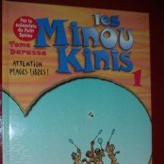 Cómics: LES MINOUKINIS, TOME 1 : ATTENTION, PLAGES LIBRES ! ALBUM – NOVEMBRE 1997 . NEUF. NUEVO. ED. FRANCÉS. Lote 113296439