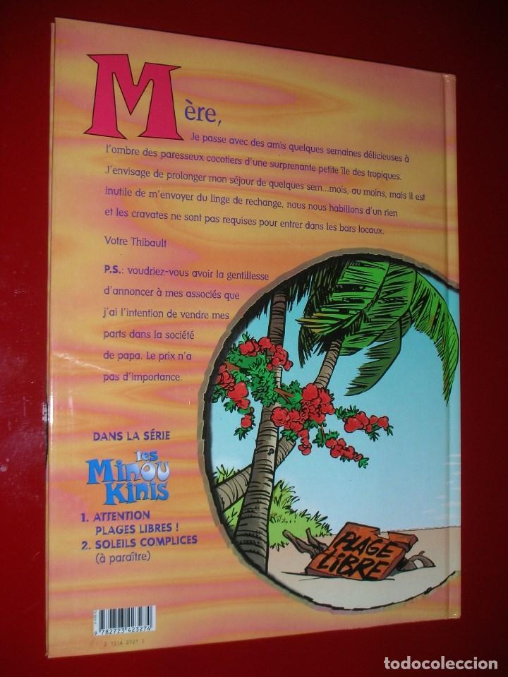 Cómics: Les MinouKinis, tome 1 : Attention, plages libres ! Album – novembre 1997 . NEUF. NUEVO. ED. FRANCÉS - Foto 2 - 113296439