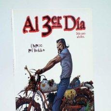 Comics: COL POPCORN. AL TERCER 3ER DÍA (ENRIC REBOLLO) GLENAT, 2010. OFRT ANTES 12,95E. Lote 274189088