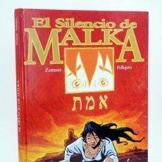 Cómics: EL SILENCIO DE MALKA (RUBÉN PELLEJERO / JORGE ZENTNER) GLENAT, 2004. OFRT ANTES 15E. Lote 198928820