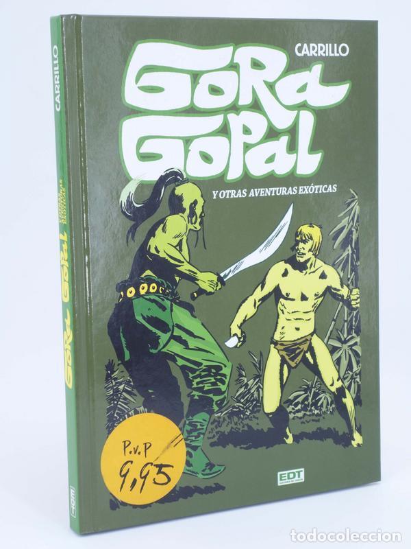 GORA GOPAL Y OTRAS AVENTURAS EXÓTICAS. INTEGRAL (CARRILLO) EDT, 2012. OFRT ANTES 15E (Tebeos y Comics - Glénat - Autores Españoles)