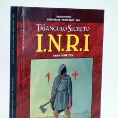 Cómics: INRI I.N.R.I. EL TRIÁNGULO SECRETO INTEGRAL (CONVARD / FALQUE / WACHS) GLENAT, 2009. OFRT ANTES 20E. Lote 139198376