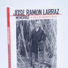 Cómics: JOSÉ RAMÓN LARRAZ. MEMORIAS. DEL TEBEO AL CINE (JOSÉ GONZÁLEZ) EDT, 2012. OFRT ANTES 17,95E. Lote 152431712